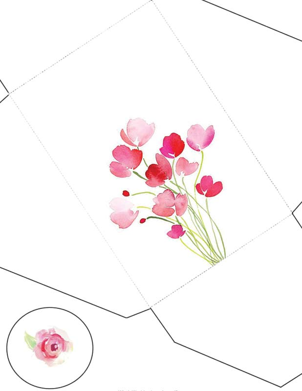 На чём печатать открытки 65