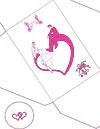 Розовые влюблённые