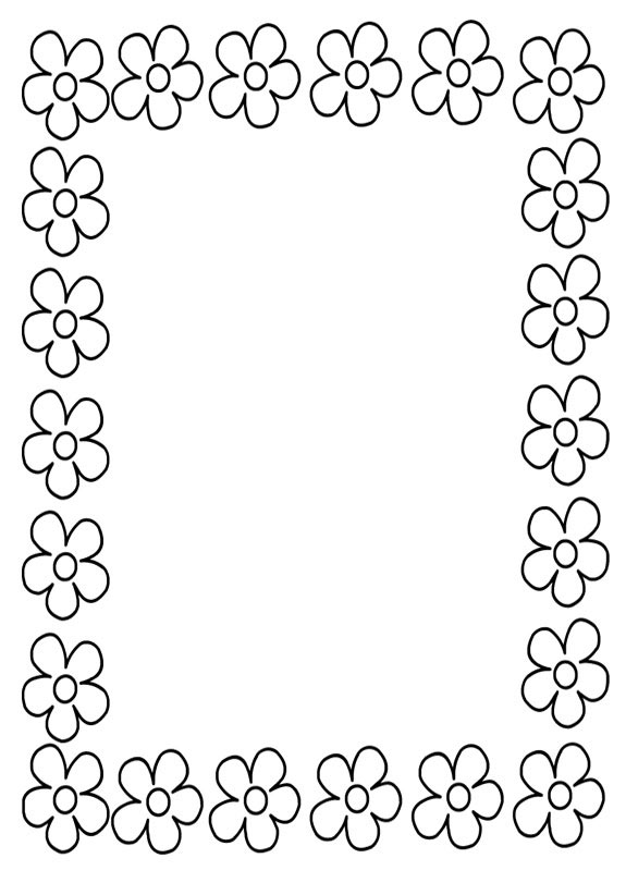 Рамки черно белые для поздравления с