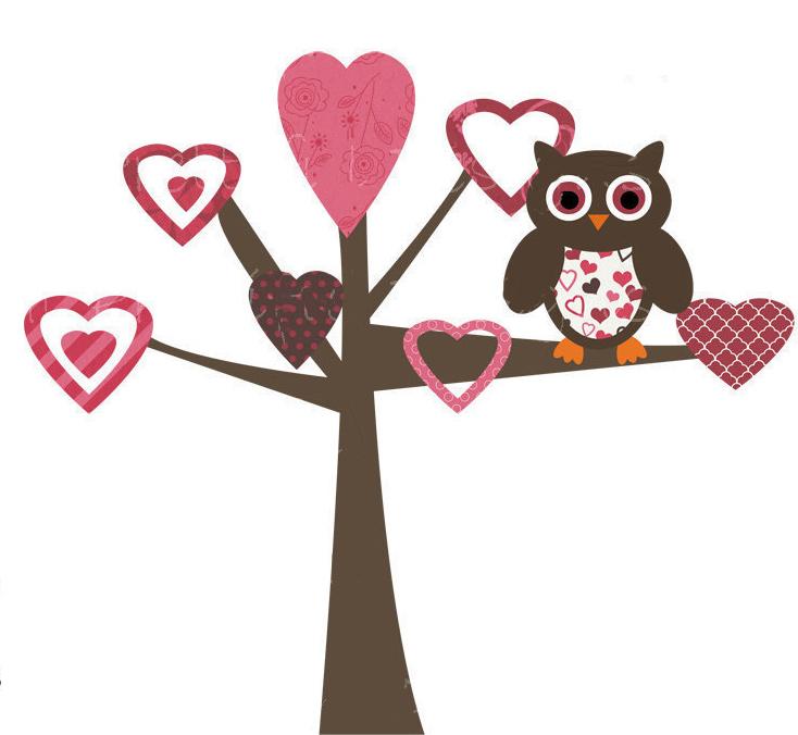 Дерево с сердечками своими руками
