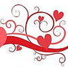 Узоры сердечками