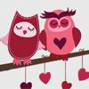 Совы и сердечки
