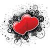 Сердца в узорах