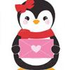 Пингвин девочка