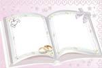 Обручальные кольца на книге