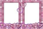Связанные сердечки