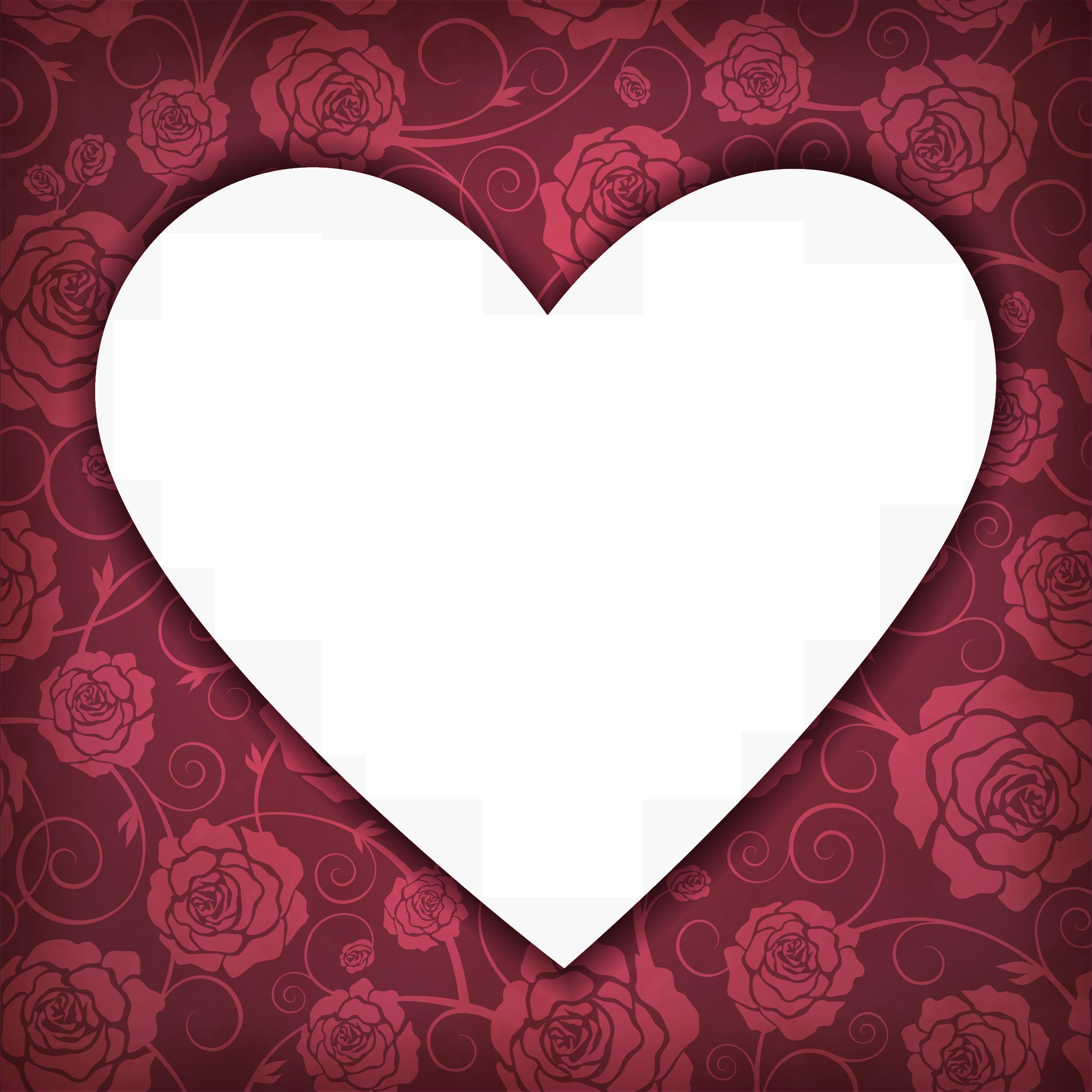 Как сделать фото с прозрачными сердечками