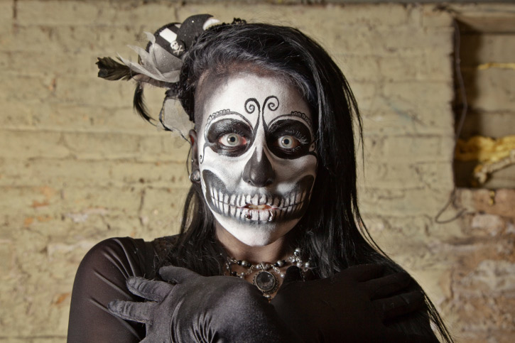 Раскраска скелетов
