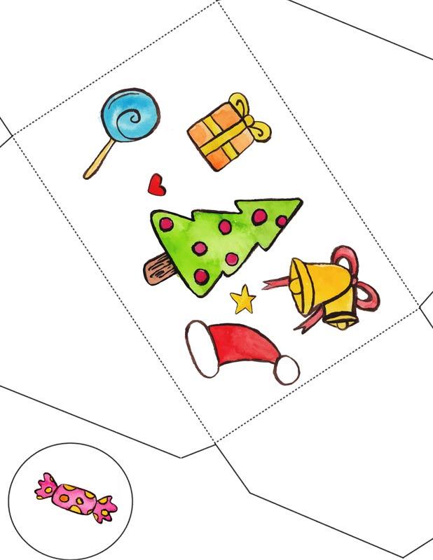 Новогодние картинки  Санта Клаус  Дуделка  Интересные