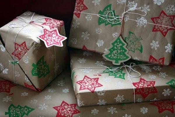 Красивая новогодняя упаковка своими руками