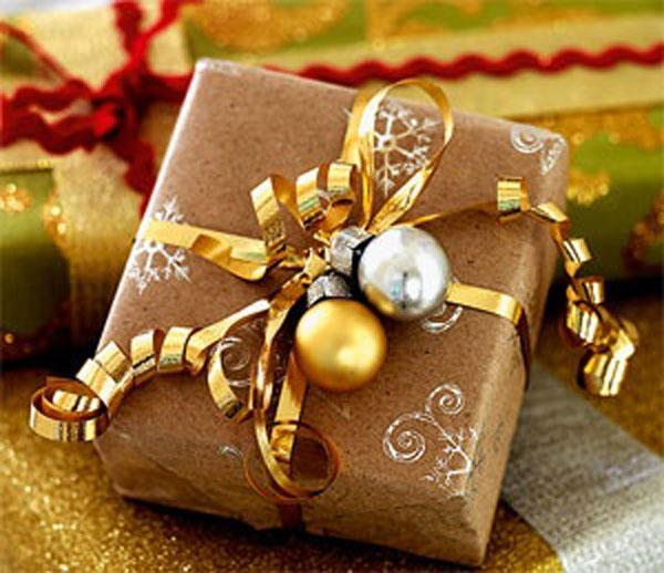 Фото оформление подарков на новый год своими руками