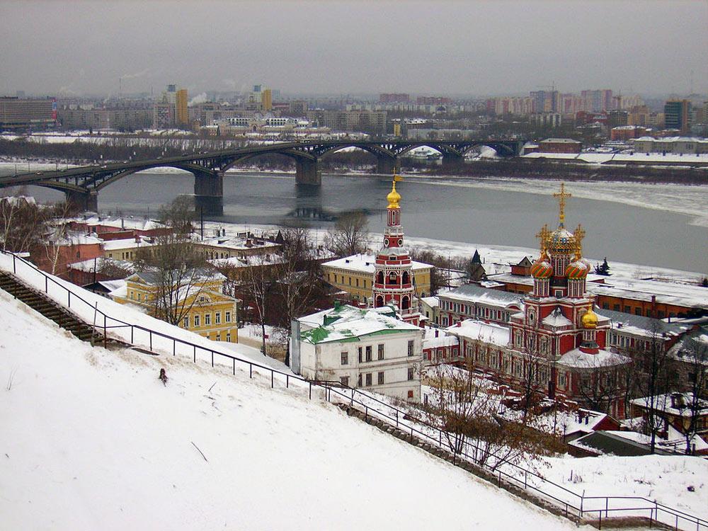 Канавинский мост и рождественская