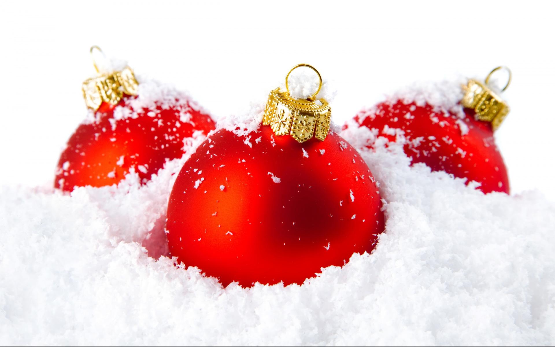 Обои композиция на белом фоне, Красивая рождественская. Новый год foto 12