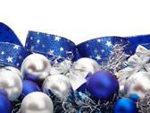 Синие и серебряные