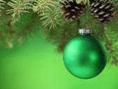 Зелёный шар