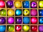 Ёлочные шары в коробке