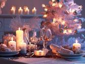 Посуда на новогоднем столе