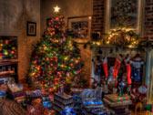 Комната с подарками