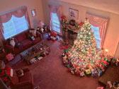 Ёлка окружённая подарками