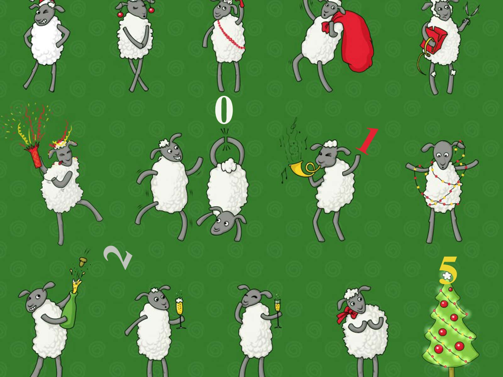 Поздравление с новым годом овца