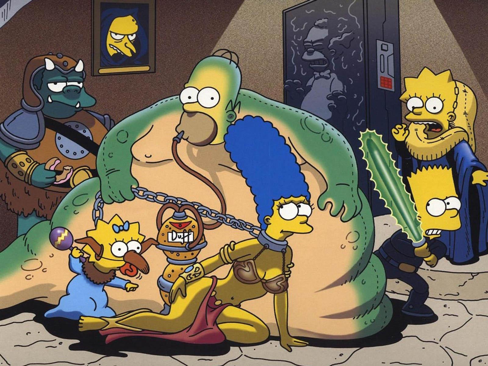 Симпсоны голие картинки барта 2 фотография